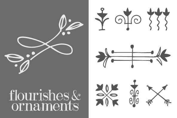 Flourishes and Ornaments