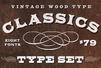 Aerotype Vintage Wood Type Classics