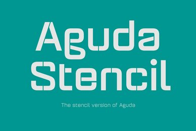 Aguda Stencil