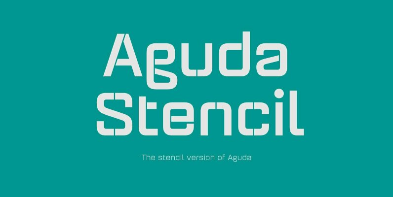 Aguda Stencil