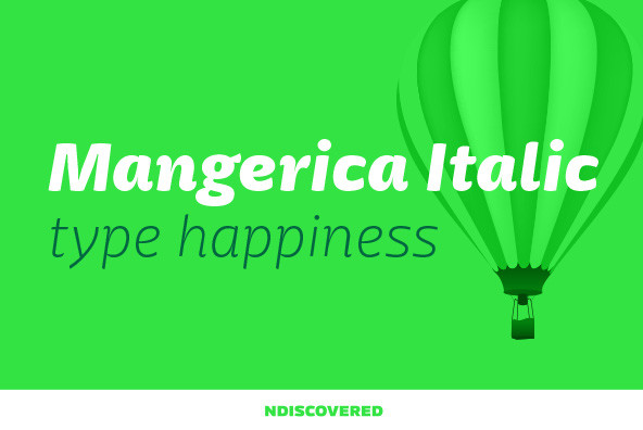 Mangerica Italic