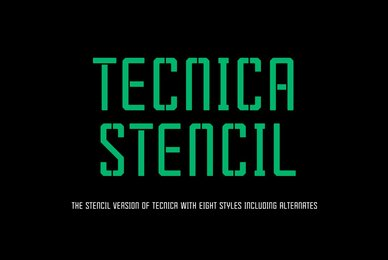 Tecnica Stencil