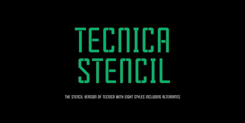 Tecnica Stencil