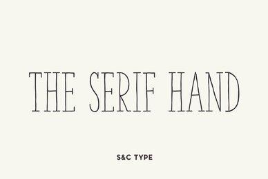 The Serif Hand