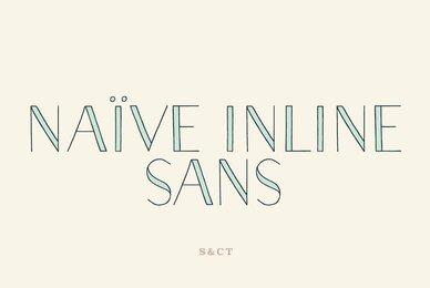 Naive Inline Sans