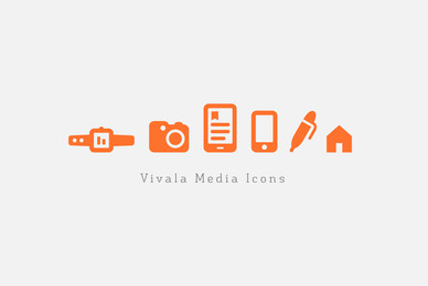 Vivala Media Icons