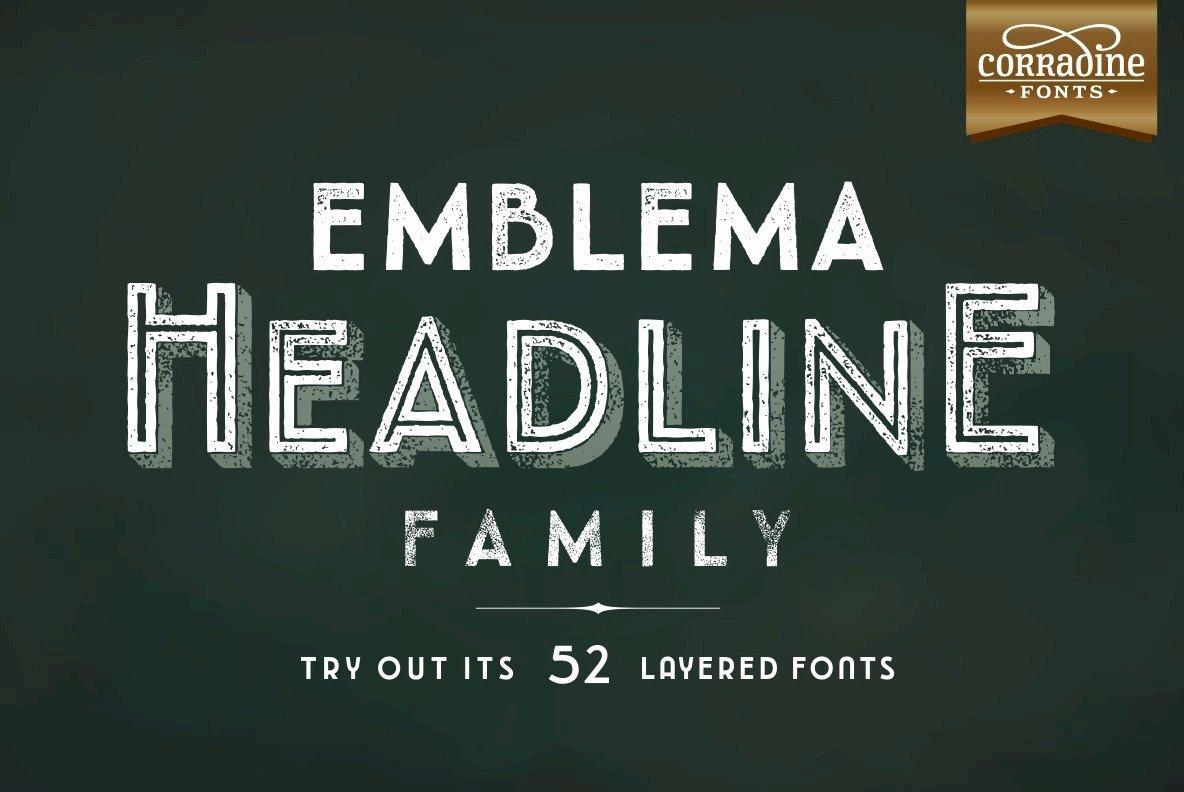 Emblema Headline