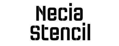 Necia Stencil