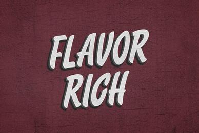 Flavor Rich