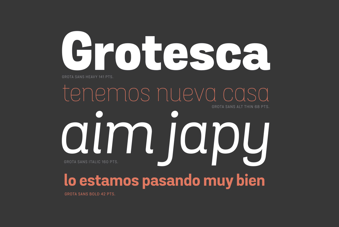 Grota Sans
