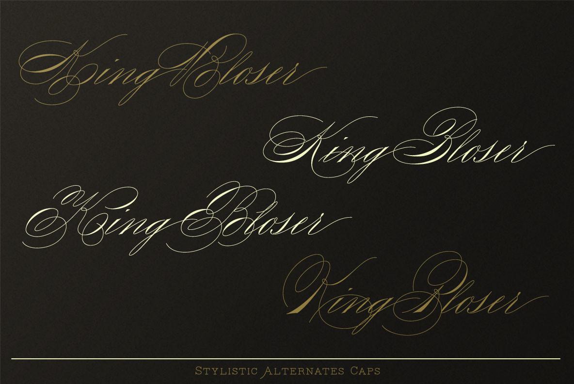 King Bloser
