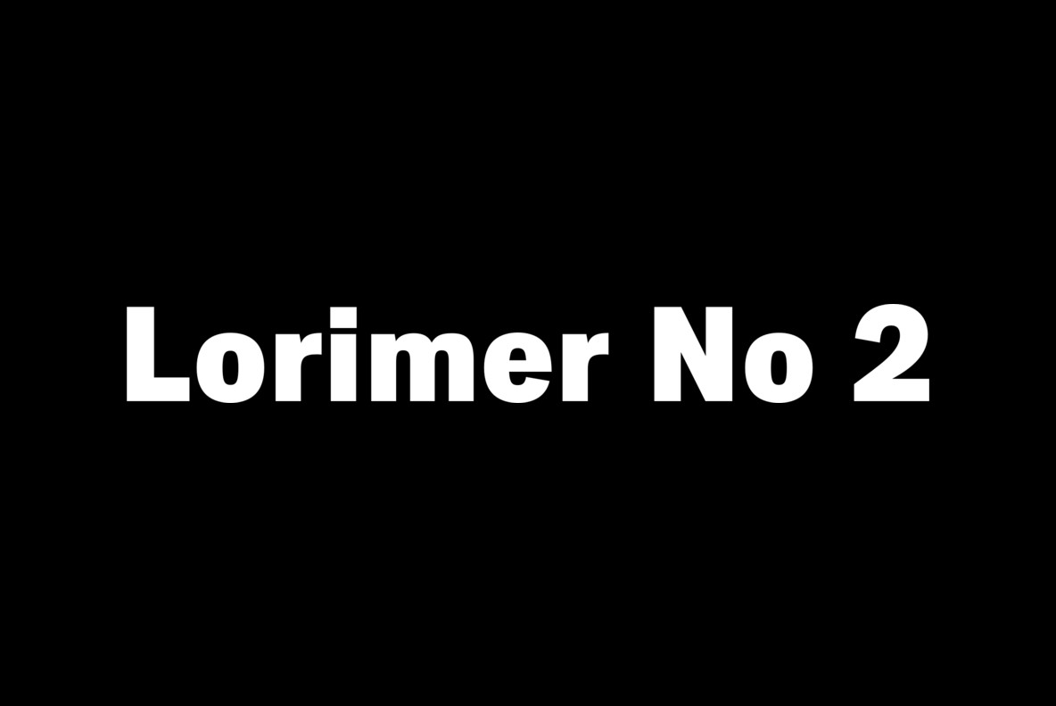 Lorimer No 2