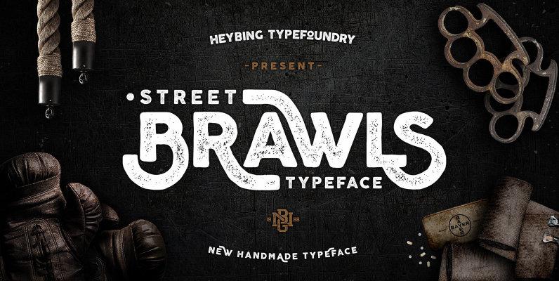 Brawls Typeface