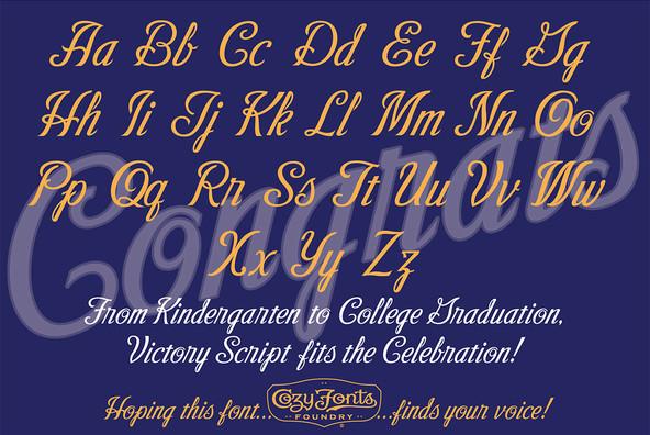 Victory Script Family