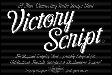 Victory Script Family