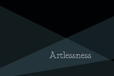 Artlessness