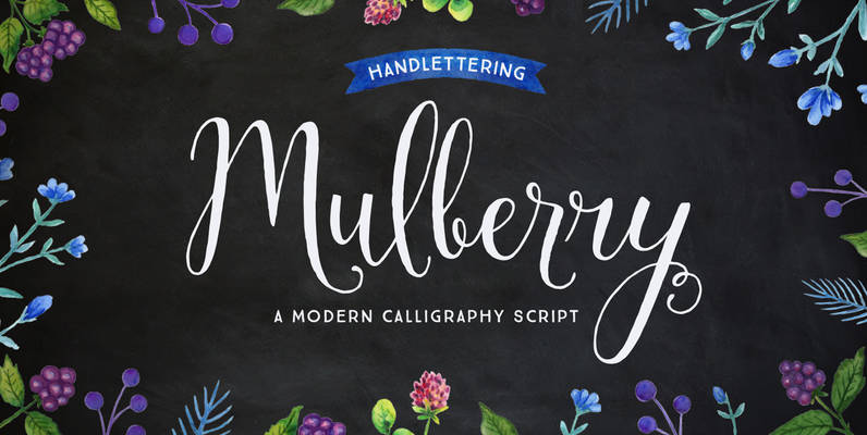 Mulberry Script Pro