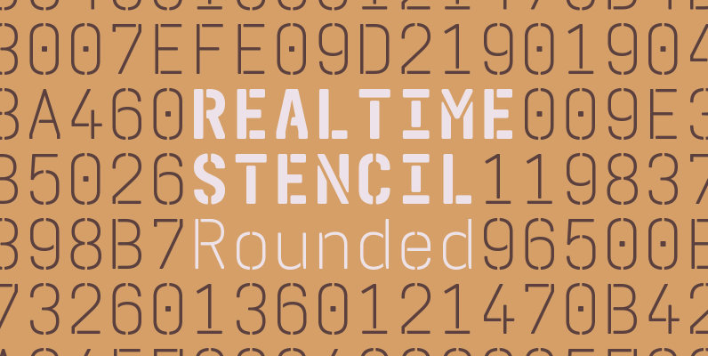 Realtime Stencil Rounded