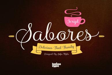 Sabores Script