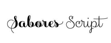 Sabores Script