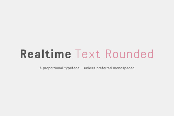 Realtime Text Rounded