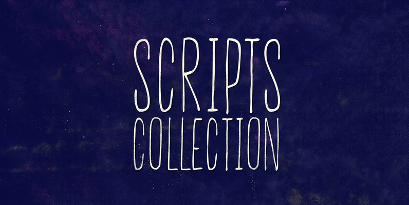 The Script Fonts Collection