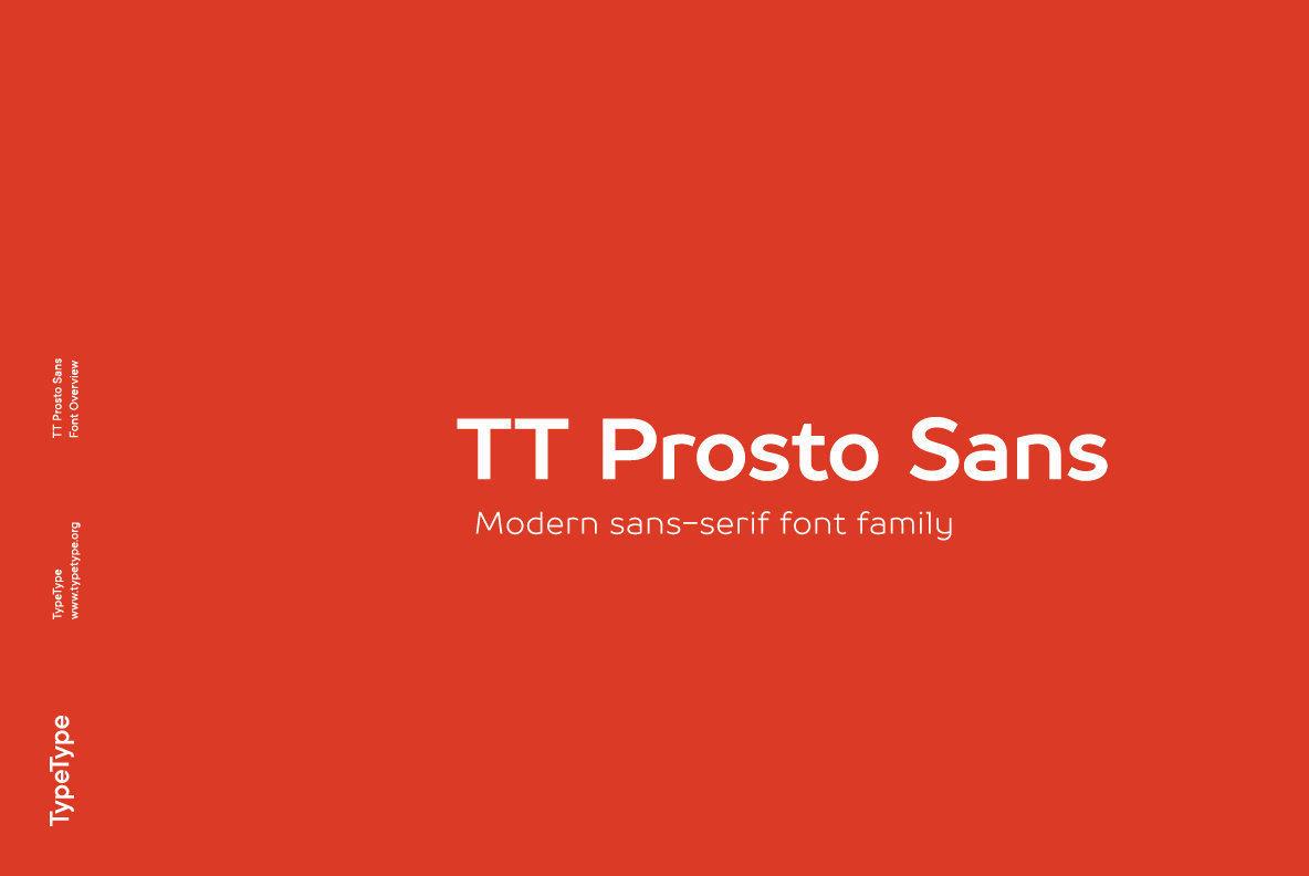 TT Prosto Sans