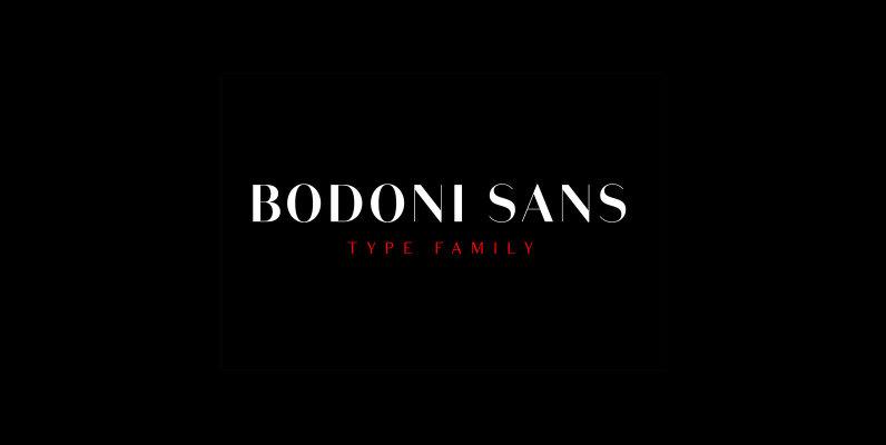Bodoni Sans