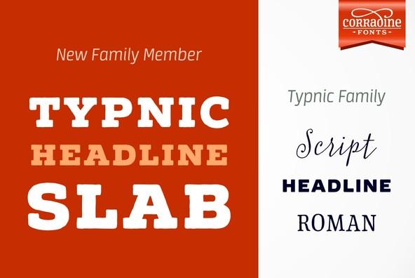 Typnic Headline Slab