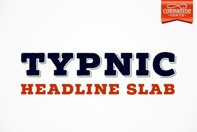 Typnic Headline Slab