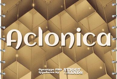 Aclonica Pro