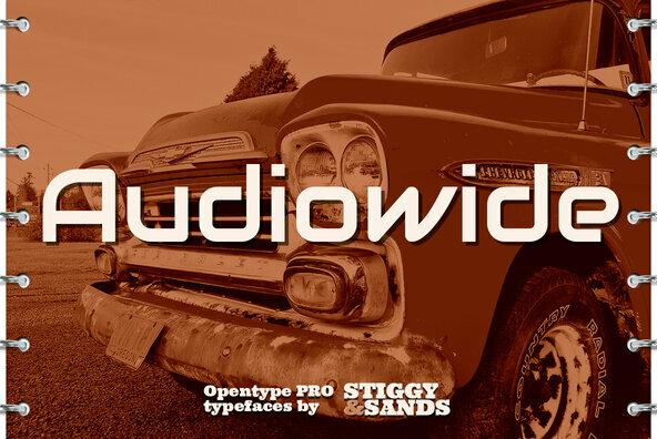 Audiowide Pro