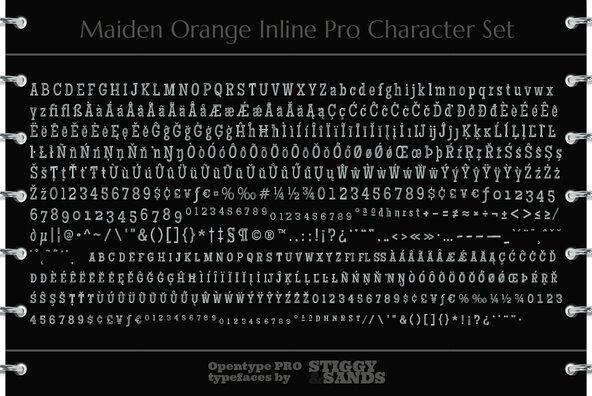Maiden Orange Inline Pro