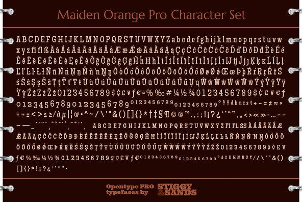 Maiden Orange Pro