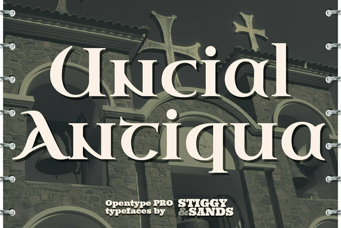 Uncial Antiqua Pro