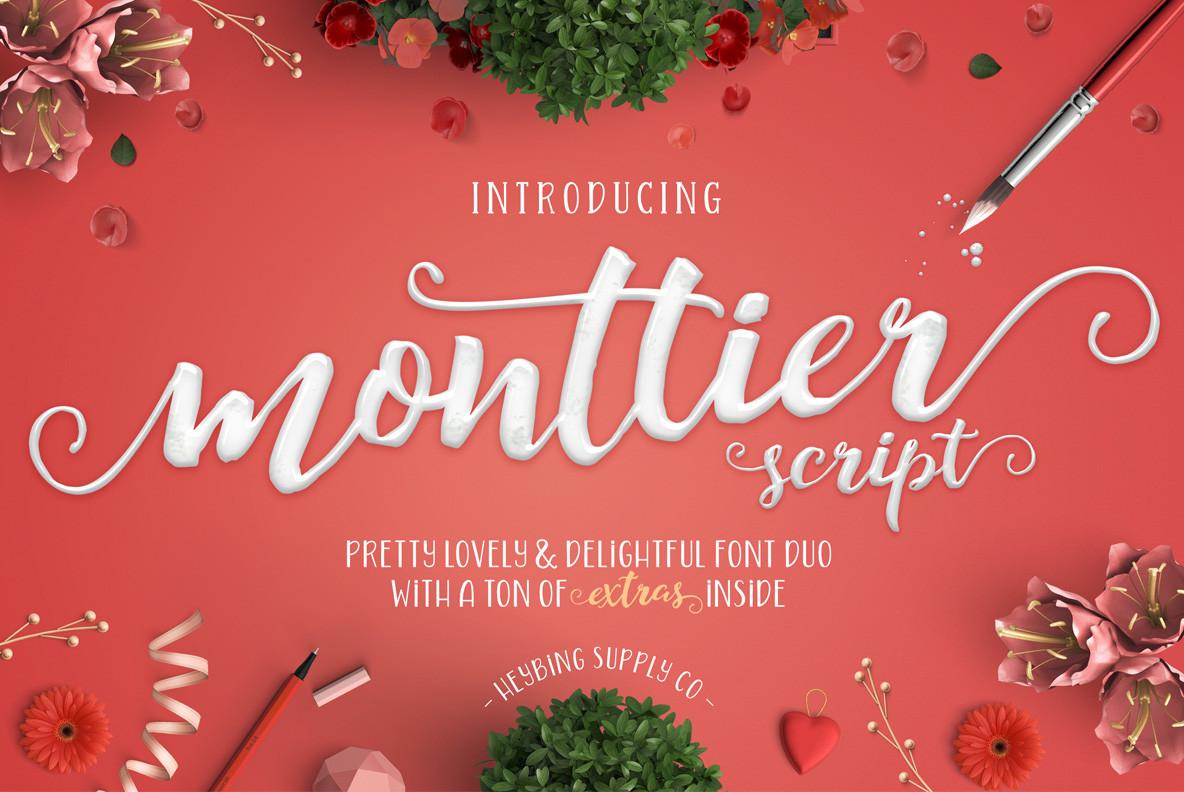Monttier Script