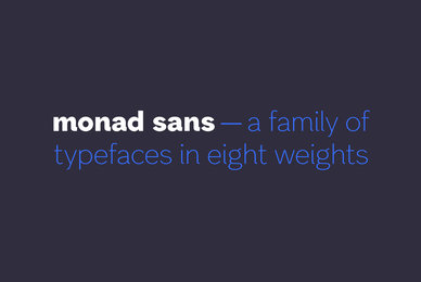 Monad Sans