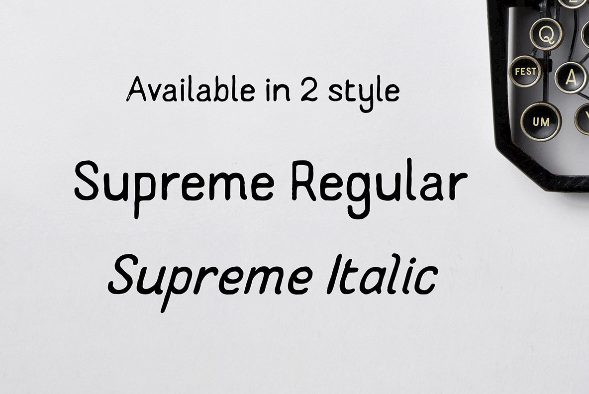 Supreme Handcrafted