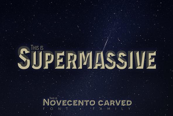 Novecento Carved