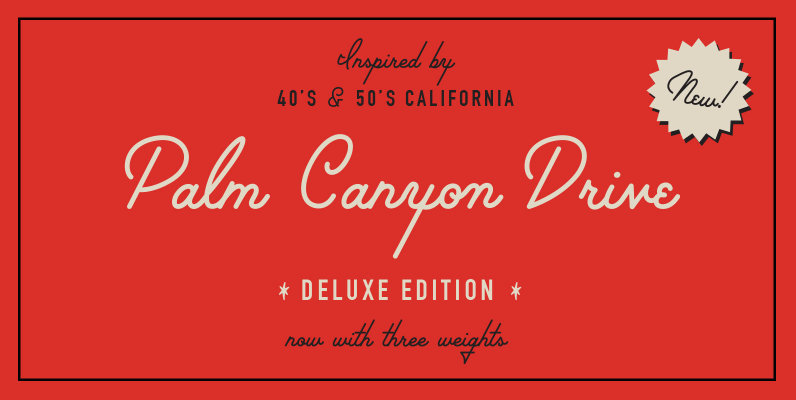 Palm Canyon Drive - Deluxe Edition
