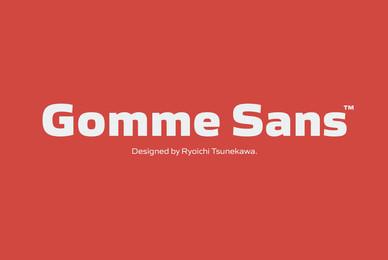 Gomme Sans