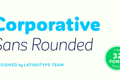 Corporative Sans Rounded