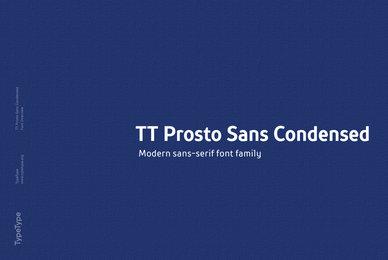 TT Prosto Sans Condenced
