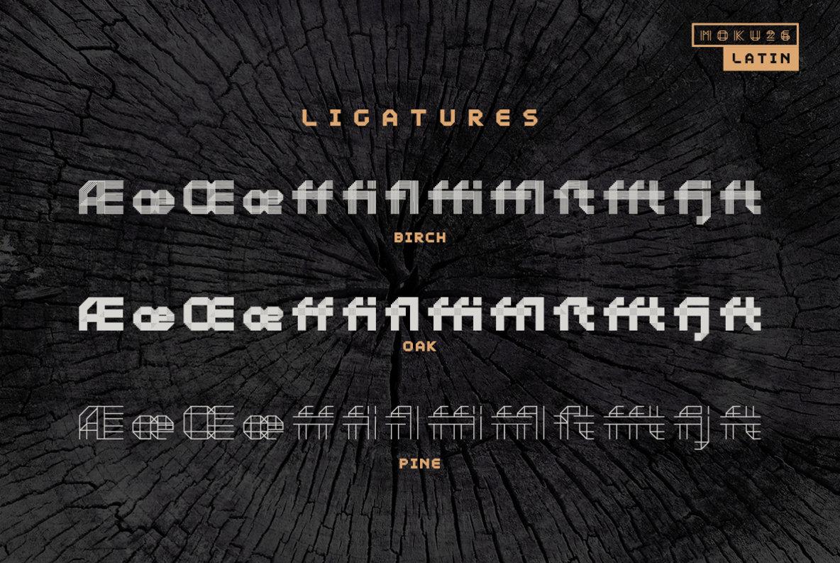 Moku26 Typeface