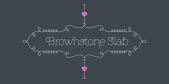 Brownstone Slab