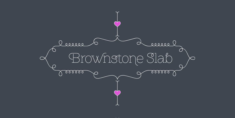 Brownstone Slab