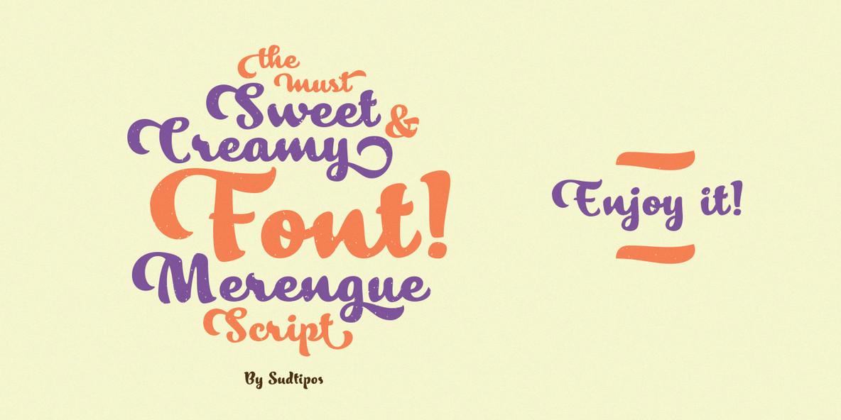 Merengue Script