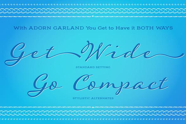 Adorn Garland Smooth