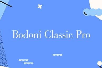Bodoni Classic Pro