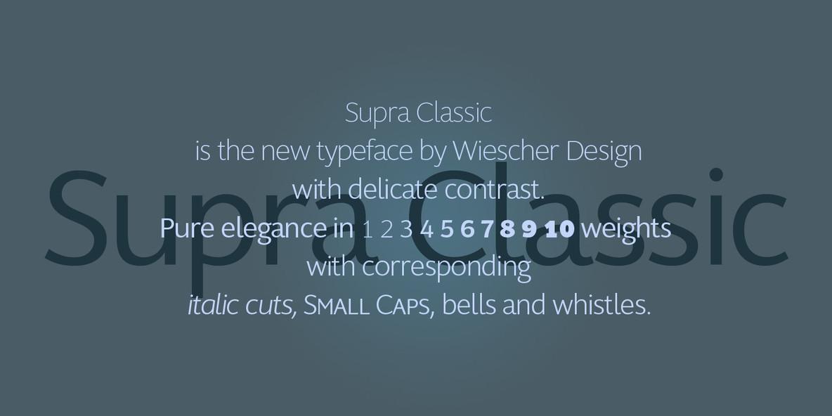 Supra Classic